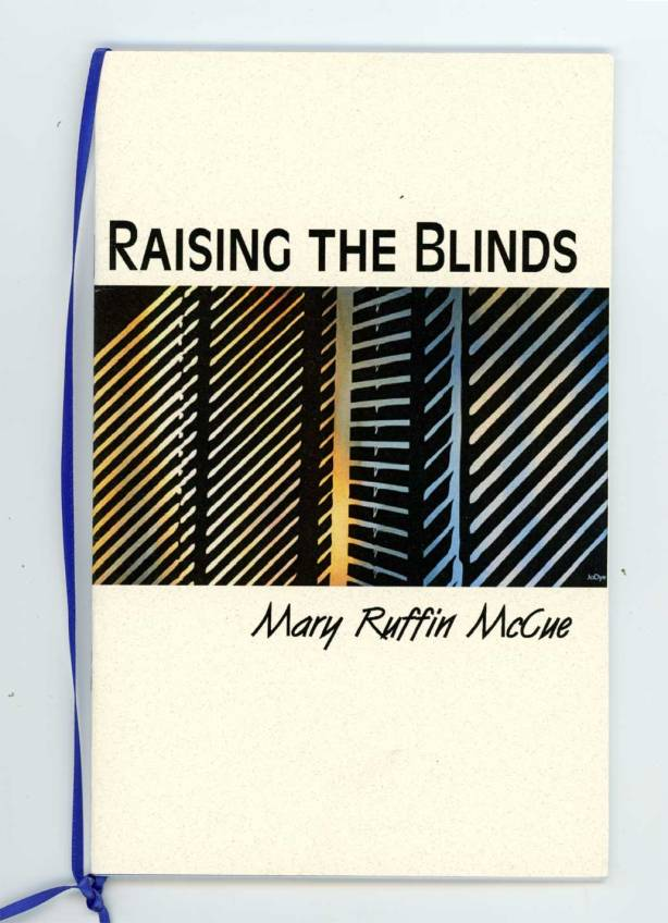cover of a book of poetry by Mary Ruffin McCue